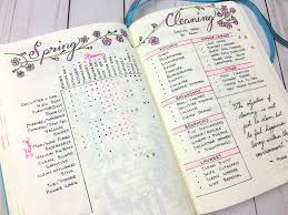 my bullet journal spring cleaning how i finally tackled it all