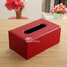 decorative tissue box rectangular tissue box holder decorative leather bedroom