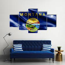 Montana State Flag Flags Tiaracle