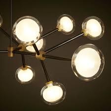 Wohnzimmerlampe 50er Jahre Molekül Oder Dna Design Kronleuchter Artylux Online Shop Für