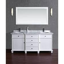 cadence 60 inch and 72 inch double sink bathroom vanity with