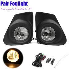 toyota corolla fog lights online cheap front bumper left right fog lights l w h11bulb