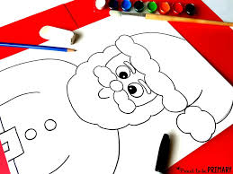 santa claus directed drawing proud to be primary