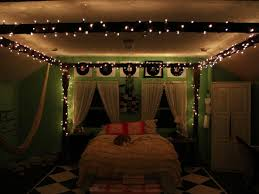 bedroom delightful blue color fairy lights bedroom in white