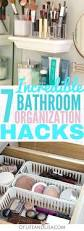 Bathroom Organizers Ideas by 7 Incredible Bathroom Organization Ideas To Help You Declutter