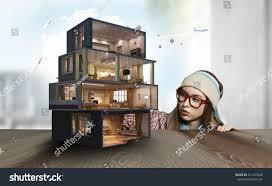 design your dream house mixed media stock photo 511203640