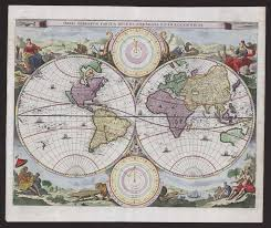 Batavia World Map by New Holland U0027s Position Upon The Globe U2013 Special Collections