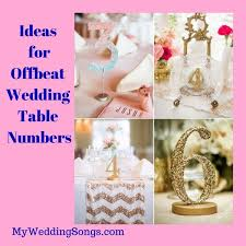table numbers wedding 12 offbeat wedding table number ideas my wedding songs