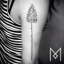 16 simple one line tattoo ideas for the minimalist page 4 of 6