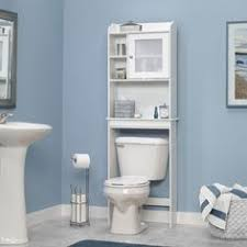 Bathroom Toilet Cabinets Bathroom Space Saver Storage Over The Toilet Cabinet Shelve