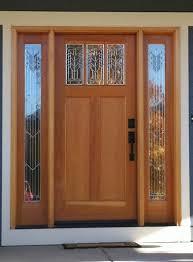 front door fall decorating ideas bright colored doors istock