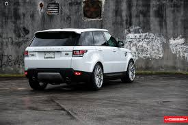 modified range rover sport 2014 range rover sport gets vossen wheels autoevolution