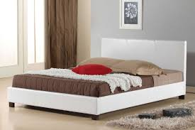 Modern White Queen Bed Bedroom Extraordinary Image Of Furniture For Bedroom Decoration