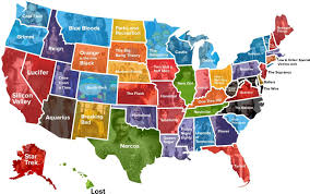 Centurylink Field Map Your State U0027s Favorite Tv Show Map Cabletv Com