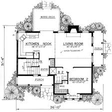 cottage floor plan plan 43002pf charming revival cottage tiny house