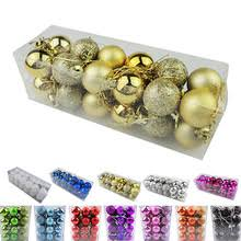 Hanging Decorations For Home Christmas Tree Xmas Balls Decorations Promotion Shop For