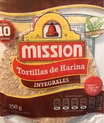ots de cuisine tortillas de harina integrales mission