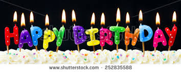 happy birthday candles stock images royalty free images vectors