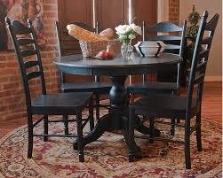 carolina cottage dining table salem antique black cherry pedestal dining table set