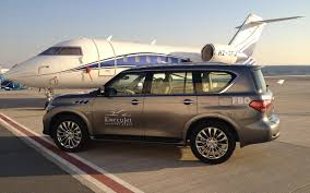 qx80 part of first class experience with execujet infiniti qx80