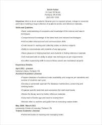 Resume Format For Librarian 9 Librarian Resume Templates Free Sample Example Format
