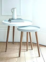 Pedestal Accent Table Small Round Pedestal Accent Table White Side Wood Find Pin Dining