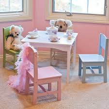 pink dining room chairs kidkraft farmhouse table and 4 chair set hayneedle