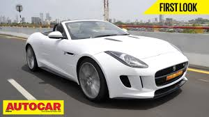 jaguar cars f type jaguar f type v8 s exclusive india drive autocar india youtube