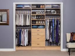 Small Closet Organization Ideas by Reach In Closet Design