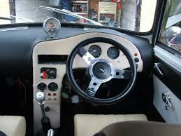custom mini dash mini interior minis cars and