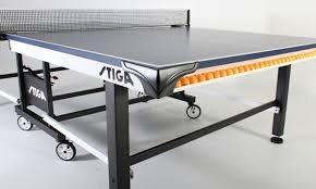 stiga eurotek table tennis table stiga tournament series sts 520 t8525 table tennis table