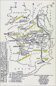 Le Havre France Map by The 2nd Division A E F U2014 Map Of Base Sections In France And