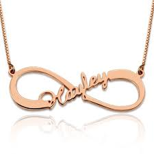 infinity necklace with initials personalized gold infinity necklace with initials gift for