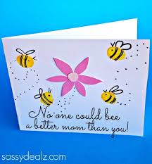 day card fingerprint bee s day card for kids to make crafty morning