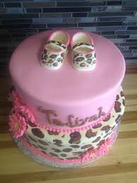 baby shower cake leopard 916241teln leopard print individual baby