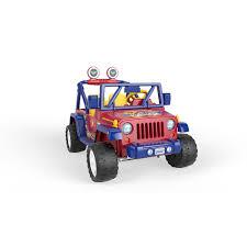 toy jeep wrangler 4 door fisher price power wheels wonder woman jeep wrangler mattel