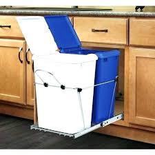 garbage can under the sink under sink garbage can can cabinet hardware sliding trash bin trash