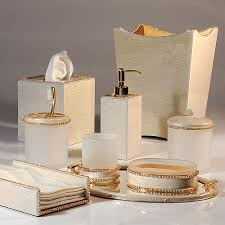 gold bathroom accessories sets for the home pinterest gold