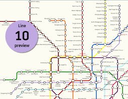 Shenzhen Metro Map by 10 Facts About Shanghai Metro Line 10 And A Map The Explore Blog
