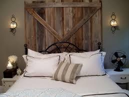 barn wood headboard diy home design ideas