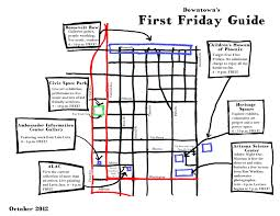 Phx Map Downtown U0027s First Friday Guide Downtown Phoenix Inc