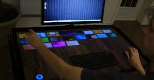 bureau tactile le bureau tactile de 40 pouces de exopc
