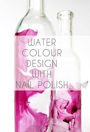 how to make water colour design with nail polish es kaa makes