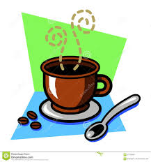 fancy coffee cup stock vector image 57754894