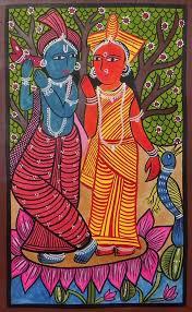 51 best indian art kalighat paintings images on folk art paintings of india
