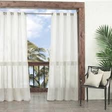 Outdoor Sheer Curtains For Patio 108 Inches Sheer Curtains Shop The Best Deals For Nov 2017