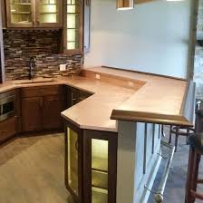 countertops copper farmhouse sink and slate countertops with