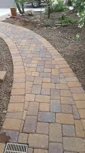 belgard cambridge cobble k pattern in a walkway in anthem arizona