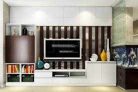decor tile accent walls and wall unit with interior partition