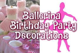 ballerina party supplies ballerina birthday party decor vlog 44